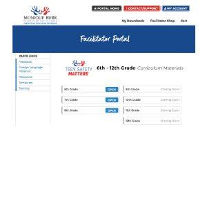 MBF Teen Safety Matters Digital Bundle - 6th - 8th Grade